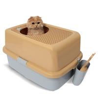 펫디아 탑엔트리 고양이 후드형 화장실