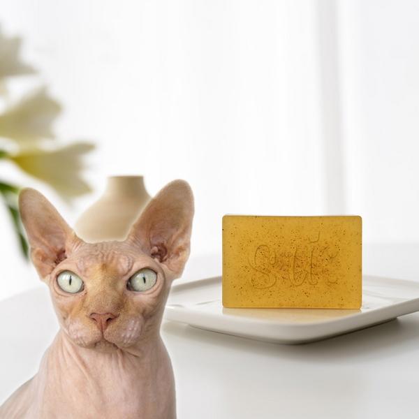 수솝 그린캣 네롤리 캣닢 고양이 천연비누 샴푸