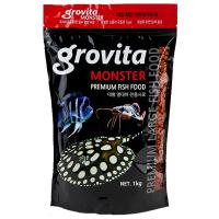 그로비타 몬스터 1kg / 대형 열대어 사료 육식어 먹이
