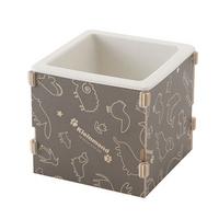 박스형 1구 식기 패턴다크