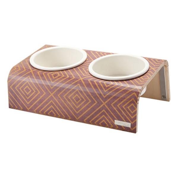 Kleinmond - 패턴 커브형 2구 식기 (노해)
