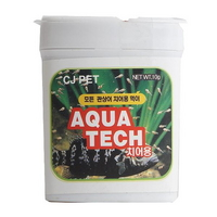 아쿠아텍 치어사료 10g (구피 치어 먹이)