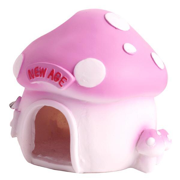 New Age 핑크 버섯하우스 은신처 (NA-H054)
