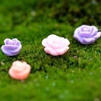 피규어 꽃 3개 (색상랜덤)
