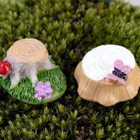 피규어 둥지나무 2개 (색상랜덤)