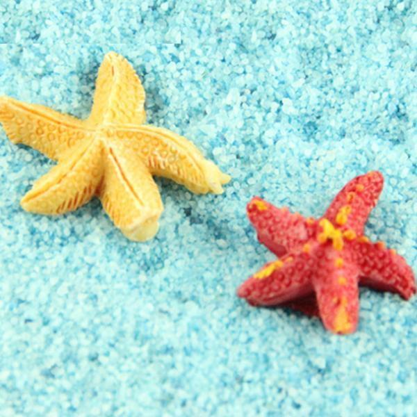 불가사리 피규어 2개(색상랜덤)