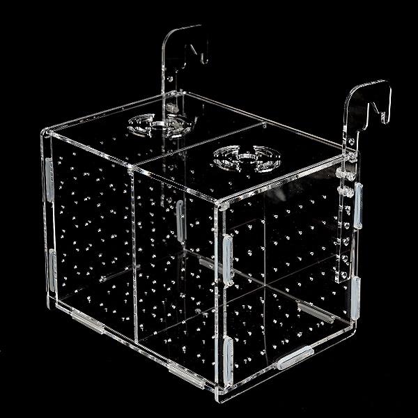 new 중형 아크릴격리박스 걸이식 (20 x 15 x 15cm)