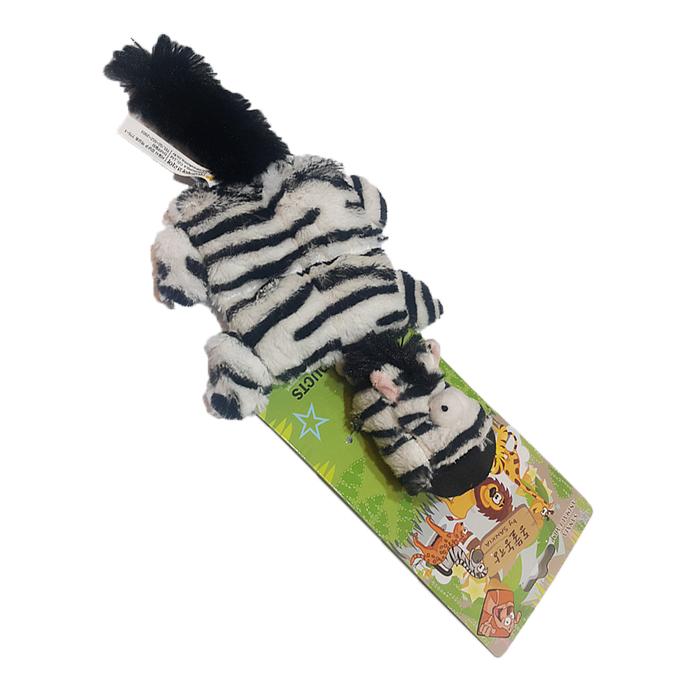 (특가)애견장난감 동물농장 넙죽이 얼룩말