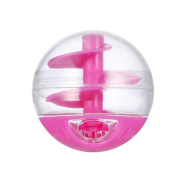 토이거 고양이 장난감 트릿볼 핑크