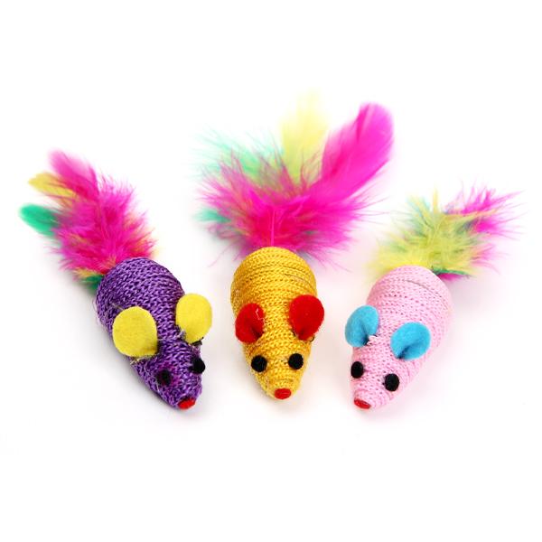(특가)고양이장난감 쥐돌이 3p세트 CAB-03