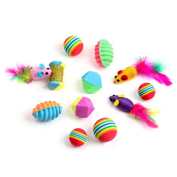 산시아 고양이 장난감 풀세트