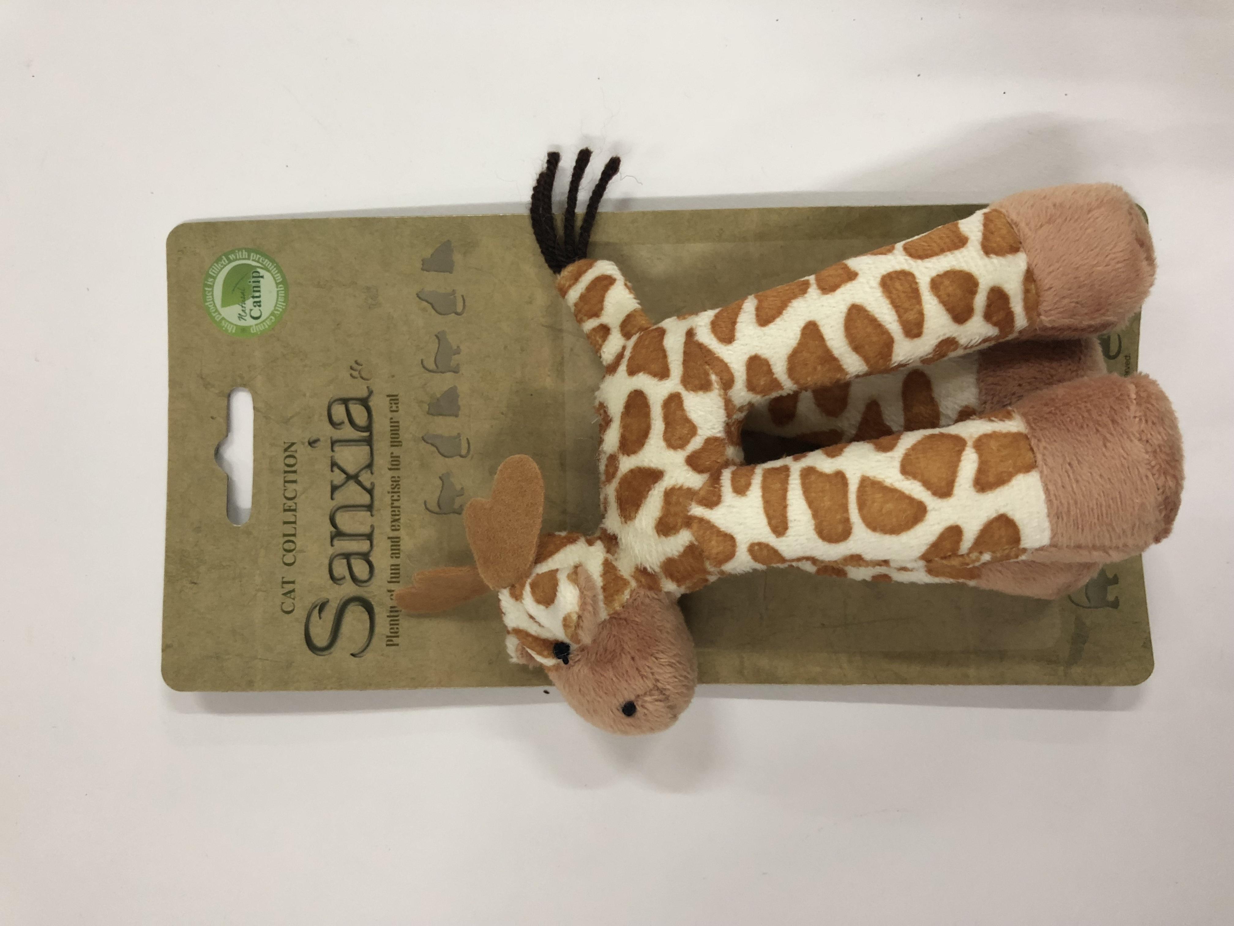 반려동물 장난감 산시아 칼라토이 기린