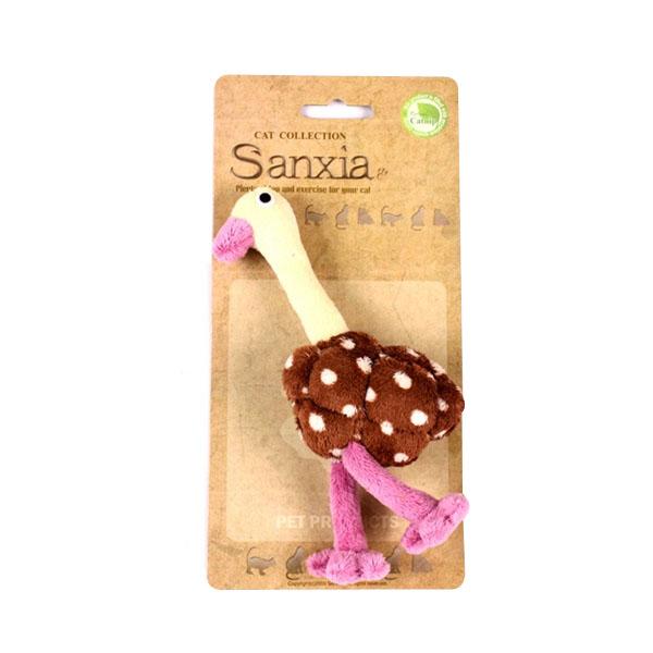반려동물 장난감 산시아 타조토이