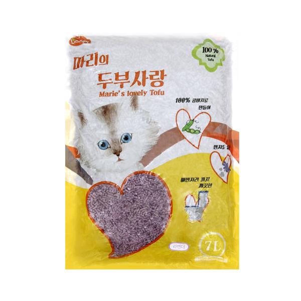 마리 두부사랑 고양이 모래 라벤다 7L