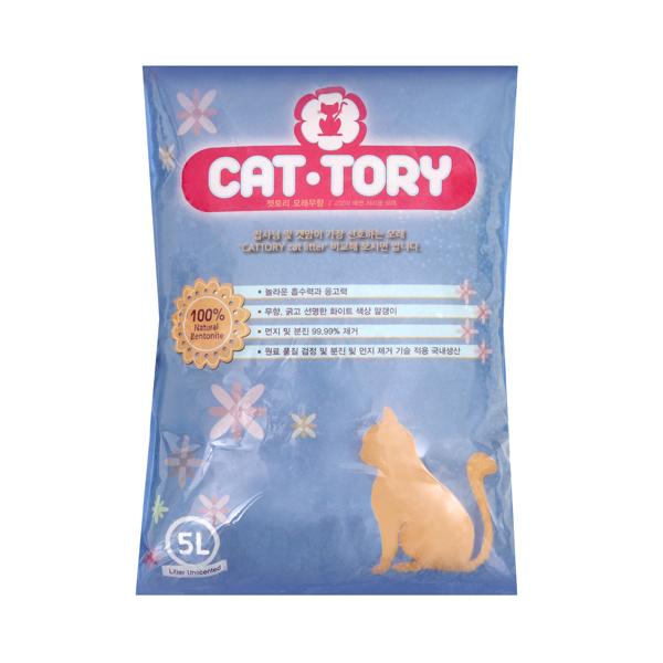 (특가)캣토리 고양이모래 무향 5L