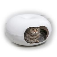 모더나 고양이 동굴형 하우스 숨숨집 (방석포함)