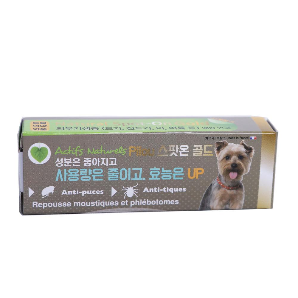 필루 네츄럴 스팟온 골드 소형견용 1ml (해충방지제)