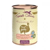 (유통기한21.12.11)테라카니스 강아지 습식 사료 퓨어미트 칠면조 400g