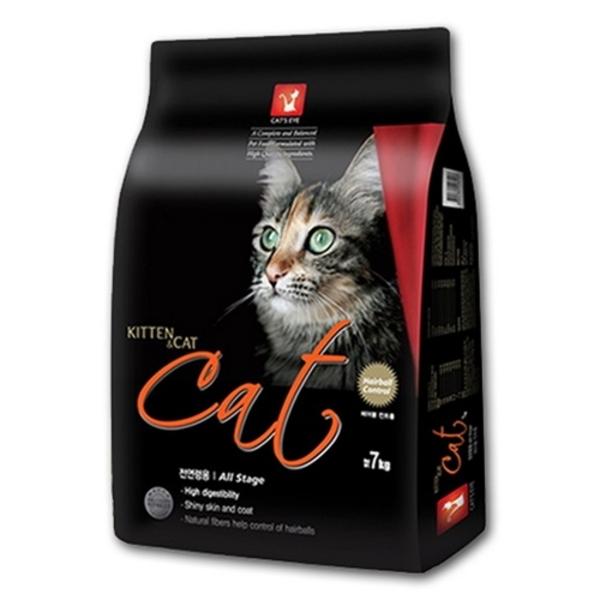 캣츠아이 고양이사료 헤어볼제거 7kg