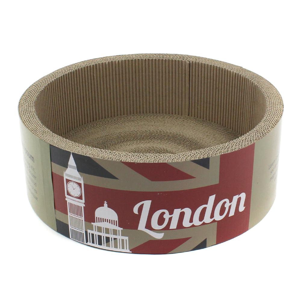 고양이장난감 모던캣 원형스크레쳐 런던