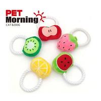 펫모닝 강아지 내추럴 과일 토이 삑삑이 장난감 (랜덤발송)