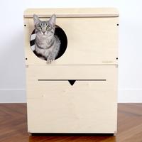 가또블랑코 고양이 펫플 복층 화장실