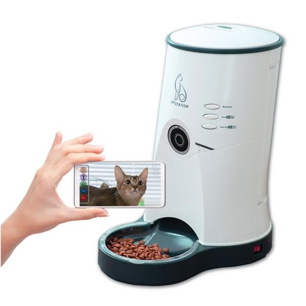 펫스테이션 스마트 영상 자동급식기