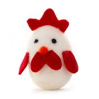 루어캣 고양이 장난감 양모볼 치킨에그 1pcs