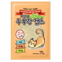 두부랑캣츠 고양이 모래 이코노미 2.8kg 오리지날 3개