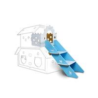 키워보리 고양이 하우스 테라스와 계단