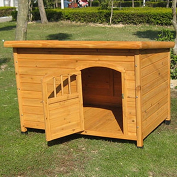 CM  DGH9010L 강아지 원목 편백나무 하우스 대형