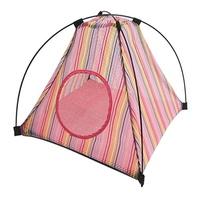반려동물 접이식 텐트 레인보우