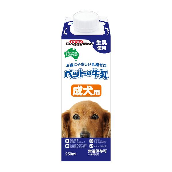 (유통기한20.01.30)도기맨 호주산 강아지 우유 어덜트 250ml