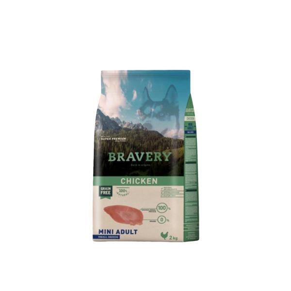 브레이버리 치킨 어덜트 사료 40g