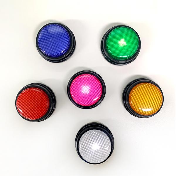 말하는 강아지 펫톡 LED 녹음 간식벨 6개 SET