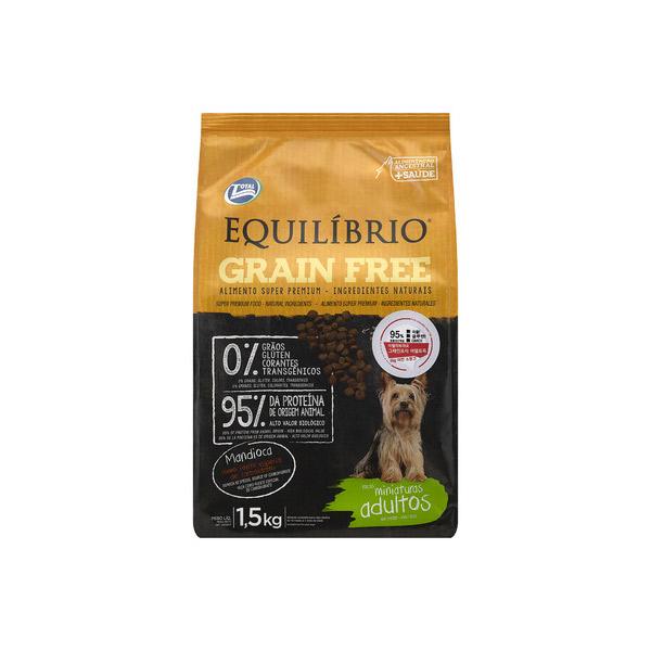 이퀼리브리오 강아지 사료 그레인프리 어덜트 40g (3개묶음)