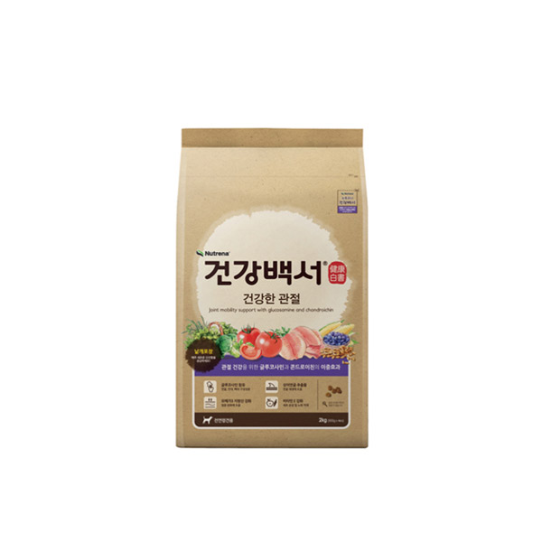 카길 강아지 사료 건강백서 건강한 관절 40g (3개묶음)