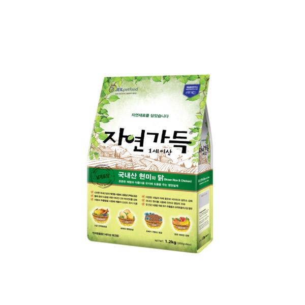 하림 강아지 사료 자연가득 닭고기 (1세이상) 40g (3개묶음)