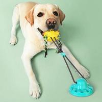 셀프 터그놀이 로프 강아지 흡착 장난감 고무