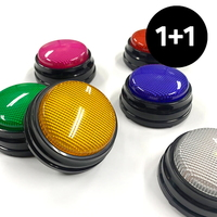 [1+1] 말하는 강아지 펫톡 LED 간식 녹음벨