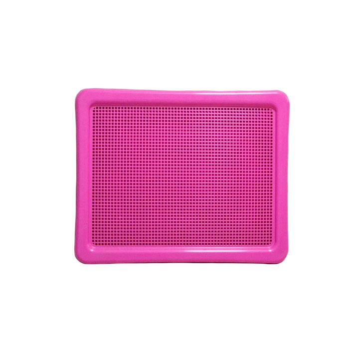 애견화장실 펫츠코 대형 배변판 핑크