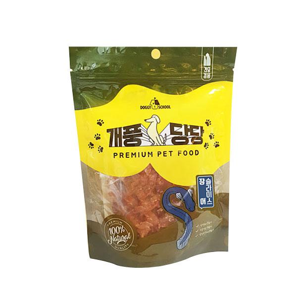 (1일특가)애견간식 개풍당당 민물장어 슬라이스 100g