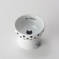 네코이찌 고양이 간식그릇 물방울무늬