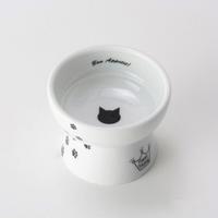 네코이찌 고양이 간식그릇 고양이무늬