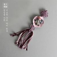은가비 노리개 (핑크)