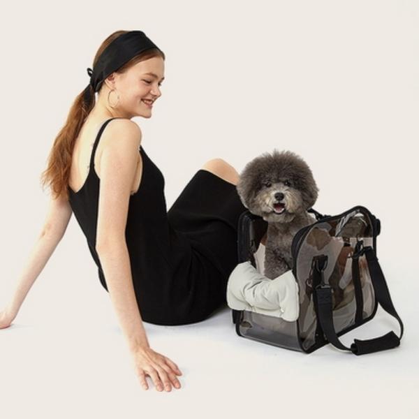 Clear carry bag(Black) - Basic Set