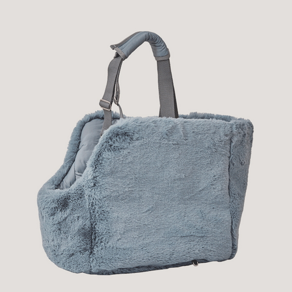 Reversible carry bag (light blue)