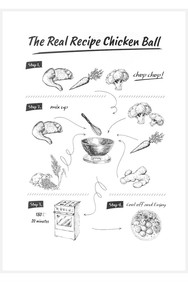 더리얼 레시피 치킨볼 100g - 스토어봄, 4,600원, 간식/영양제, 파우치