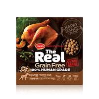 (유통기한21.02.12)더리얼 그레인프리 오븐베이크드 닭고기 시니어 사료 1kg