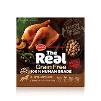 (유통기한21.03.05)더리얼 그레인프리 오븐베이크드 닭고기 어덜트 사료 1kg